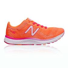 Scarpe da ginnastica arancione New Balance con stringhe per donna