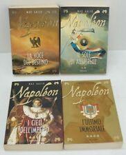 NAPOLEON Saga Completa n. 4 volumi di Max Gallo ed. Mondadori