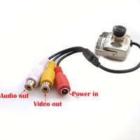 Mini CMOS 420TVL 700TVL Hidden Pinhole SPY CCTV Security Indoor Outdoor Camera