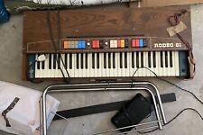 Pianola Organo GEM RODEO 61 COMBO ANNI 70