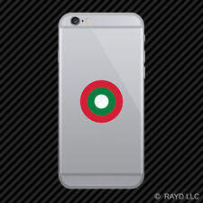 Maldivian Air Elements Roundel Cell Phone Sticker Mobile Maldives MDV MV