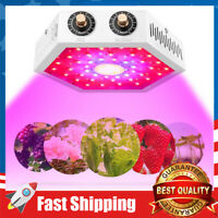 LED Plants Grow Light 1000W Full Spectrum Growing Lamps with Veg and Bloom