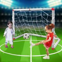 Mini Fußballtor Fußball Tor + Tornetz + Fußball + Pumpe Set für Kinder