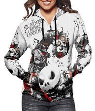 New Jack Skellington Halloween The Nightmare Before Christmas Fans Woman Hoodie