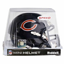CHICAGO BEARS RIDDELL NFL MINI SPEED FOOTBALL HELMET