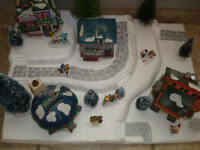 Christmas Village Display Base Platform C30 For Lemax Dept 56 Dickens + More
