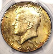 1966 Kennedy Half Dollar (50C Coin) - PCGS MS66 - Rare in MS66 - $625 Value!