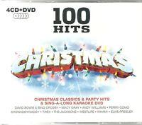 100 HITS CHRISTMAS - 4 CDS CLASSICS & PARTY HITS + SING A LONG KARAOKE DVD