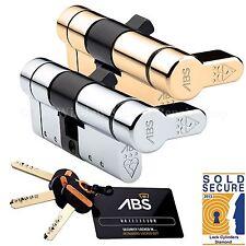 Avocet ABS Quantum Thumb Turn Euro Cylinder Door Lock Anti Snap 3 Star TS007