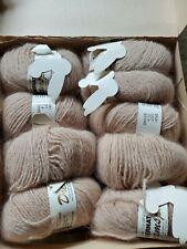 Vintage Bernat Dreamspun Yarn 9 Balls 20Gr. Each Lambswool Angora New