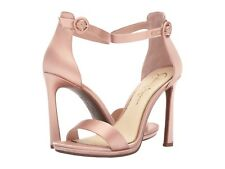 f5bba751cd17 Jessica Simpson Plemy Nude Blush Crystal Satin High Heel Ankle Strap Sandal  6