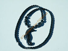 Collier Pendentif Hippocampe cheval mer 100% Hematite