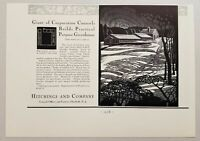 1931 Print Ad Hitchings & Company Practical Purpose Greenhouses Elizabeth,NJ