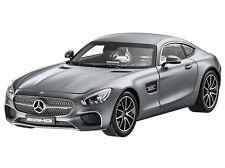 """1:18 Norev Mercedes AMG GT C190 - Designo selenita-gris MAGNO """"DEALER VERSION"""""""