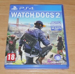 Watchdogs 2 Game for Sony PS4 Playstation 4