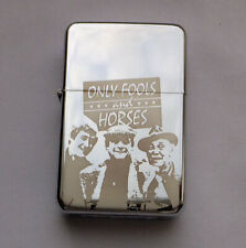 ONLY FOOLS AND HORSES ----- chrome petrol lighter [Cd:521.mc-42-lP.] mini poster