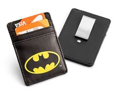 KLJN-DC-BAT: Batman Justice League Card Wallet with Money Clip