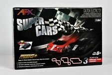 AFX Super Cars Set 15ft Track Mega G Chassis Tri-pack Afx22005