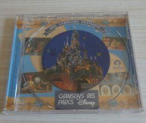 RARE CD WALT DISNEY CHANSONS DES PARCS MES CHANSONS PREFEREES 4 TITRES 1999