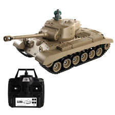 1:16 2.4G RC US M26 Pershing Battle Tank w/ Smoke & Sound Radio Remote Control