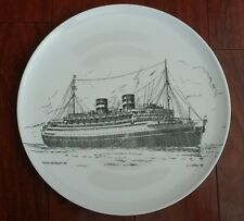 Holland America Lines Ms Nieuw Amsterdam World Grand Voyage Plate Charger 1938