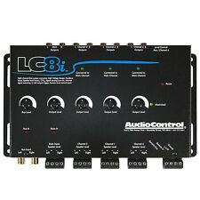 New AudioControl LC8i (Black) 8-Channel Line Output Converter w/ Auxiliary Input