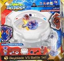 Boy Kids game Beyblade Burst Arena with 2 Beyblade Vs battle Set
