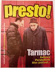Revue PRESTO! n°76 décembre 2003 Tarmac, Parabellum, Jean-Louis Aubert, U Roy…
