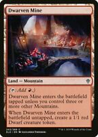 Magic the Gathering (mtg): ELD: Dwarven Mine - Common - Foil