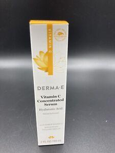 DERMA-E, Vitamin C Concentrated Serum Fluid 2 Fl Oz Exp 10/23 (New)