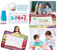 80*60cm Kids Aqua Doodle Drawing Mat Toy Water Writing Painting Board Magic Pen