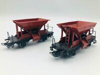 ***Lot of 2*** Marklin Primex HO 4555 Ballast Wagon - Schotterwagen