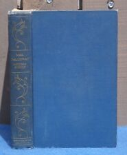 """1925 VIRGINIA WOOLF """"Mrs. Dalloway"""" 1st American Edition Blue Hardcover"""