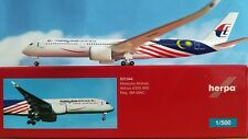 Herpa Wings 1:500 531344  Malaysia Airlines Airbus A350-900  **RARE**