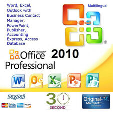 Microsoft Office 2010 Professional Plus - 32/64 bit - Multilanguage - ESD
