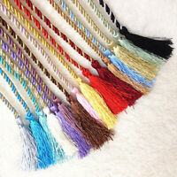 JW_ KE_ 1Pc Home Fancy Rope Window Lines Room Curtain Fringe Tassel Tieback N