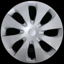 "15"" Set of 4 Wheel Covers Snap On Full Solid Hub Caps fit R15 Tire & Steel Rim"