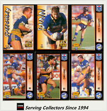 1994 Dynamic Rugby League Series 2 Base Team Set Parramatta Eels(9)