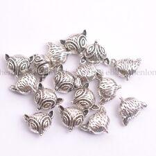 Wholesale Antique Tibetan Silver fox Charm Spacer Beads for Bracelet SH3146