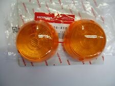 HONDA C70 CT70 CT90 XL100 CB350 CM400 CB450 CB750 TURN SIGNAL LENS OEM NEW 268