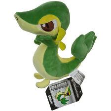 Pokemon Snivy Tsutarja Plush Soft Doll Green Snake Stuffed Toy Xmas Gift 7inch