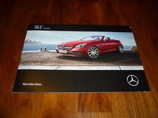 Mercedes Benz SLC Roadster Prospekt 01/2016