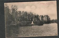 Sweden 1913 Forsmark Parti Av Parken post card to John Wahlstrom Alton IL