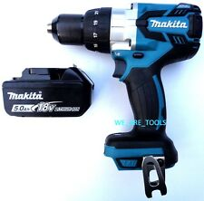 "New Makita 18V XPH07 LXT Brushless 1/2"" Hammer Drill, 1) BL1850B Battery 18 Volt"