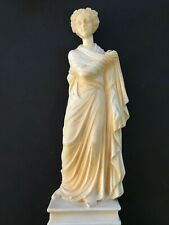 Greco-Roman Goddess Statue, Vintage, Artistic Royalties, By G. Ruggeri, Italy