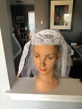 Beautiful Vintage Women's Bridal Veil