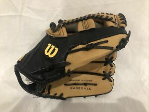 "Wilson A360 12.5"" Baseball Glove Right Hand Throw Genuine Leather"