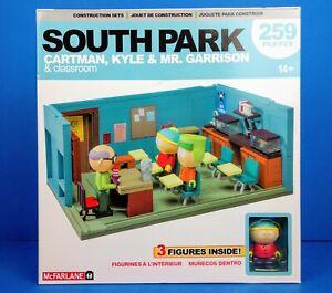 South Park Cartman, Kyle & Mr. Garrison: Classroom Construction Set (259 Pcs)