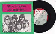 "OLA & JANGLERS -Let's Dance / Hear Me- 7"" 45 Gazell Records (C-220)"