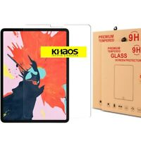 Khaos Screen Protector for Apple iPad Pro 12.9-inch 2018 HD Tempered Glass Film